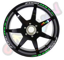Strisce adesive per cerchi moto Z1000  KAWASAKI TIPO 2  strip sticker tuning