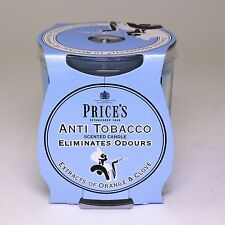 Price's candles: Odour Cancelling Candle in a Jar - Anti Tobacco