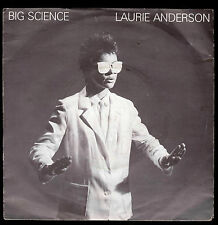 LAURIE ANDERSON DISCO 45 GIRI BIG SCIENCE B/W EXAMPLE # 22 - UK PRESS