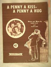 A Penny A Kiss - A Penny A Hug - Buddy Kaye & Ralph Care - 1950