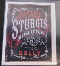 "Sturgis ""Classic Bike Week Rally"" Vintage sticker decal sign 2.25x 3"""