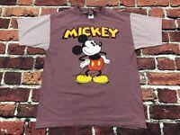 Vintage USA Single Stitch 80s 90s Mickey T-Shirt L Disney Jerry Leigh Stripes