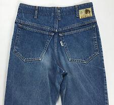 Americanino jeans w28 40 42 blu azzurro boyfriend vita alta blu usato mom jeans