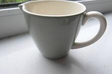 Poole Cream Jug Green White Vintage British