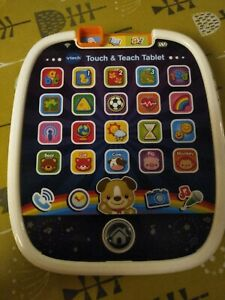 Vtech Touch And Teach Tablet with sounds and lights