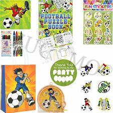 Kids Ready Made Football Paper Party Bags Boys Girls Filled Bags