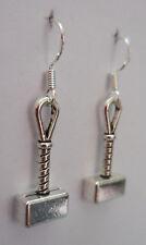 Mighty Mjolnir! earrings hammer of the gods Thor Norse Nordic Ragnarok viking
