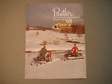 1968 Vintage Arctic Cat Panther & Cougar Snowmobiles Sales Brochure