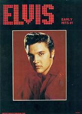 "ELVIS ""EARLY HITS #1"" PIANO/VOCAL/GUITAR MUSIC BOOK ELVIS PRESLEY RARE VINTAGE!!"