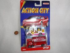 Realtoy  Action City  2 x Die Cast , Hotdogs & Drinks  Trucks , Unused  On Card