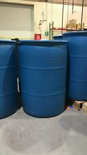 "55 Gallon Plastic Drum - Made in USA - FOOD GRADE  ""FREE LOCAL PICKUP"""