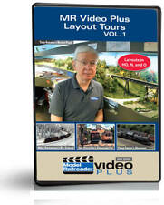 Model Railroader Video Plus Layout Tours Volume 1 - Trains Magazine Video