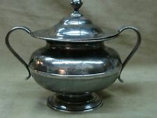 Antique 19Th Century H. Yale & Co., Wallingford Pewter Waste Bowl W/Lid!