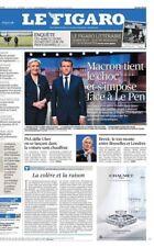 Le Figaro 4.5.2017 N°22622***MACRON s'impose à LE PEN dans 1 débat TV