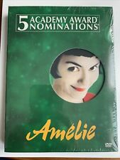 Amelie Dvd 2-Disc Set Special Edition Brand New French Jeunet Tautou