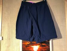 "Nike Jumpman women's navy shorts size S waist 24"" rise 12"" hips 42"" inseam 8"""
