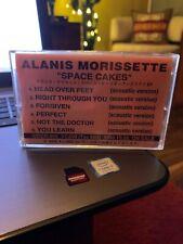 Alanis Morissette SPACE CAKES Promo Cassette 1995 wea JAPAN Rare