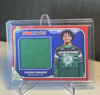 Carsen Edwards 2019-20 Panini Hoops Winter Sweater Patch Card Rookie RC