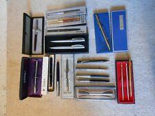 More details for pens parker sheaffer  papermate conway stewart clifford james lazer etc.