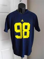NEW - W/FLAW Michigan Wolverines #98 Youth Large L (14/16) Adidas Jersey 56WK