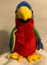 MWMT Jabber The Parrot Ty Original Beanie Baby Retired With Tag Errors