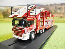 OXFORD QUINNS SCANIA EVO 6 CAR TRANSPORTER MODEL 1/76 76SCT002 BRAND NEW