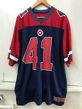 Marvel Captain America Super Soldier #41 Jersey Mens Xl Red White and Blue