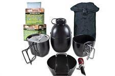 Bcb CN004BB crusader cuisine système noir ensemble 8 pièces noir étui