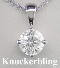 "16 - 17.99"" Round SI2 Fine Diamond Necklaces & Pendants"