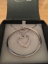 Warren James Silver Necklace and Bracelet