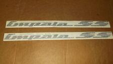 Impala SS~Black~Pair Of Quarter Panel Emblems~94-96~10248742~1/4~Left~Right~BBB~