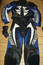 Hein Gericke ladies motorcycle 2 piece leathers jacket trousers and gloves 8