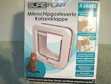 SureFlap Microchip Cat Flap SUR001 Open Box