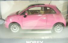 Norev 187752, Fiat 500, 2010, So pink, 1/18, NEU&OVP