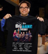 The Big Bang Theory 2007-2020 Signature Men T Shirt Cotton S-5XL Black