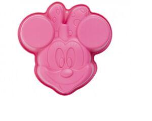 Silikon Backform Minnie Mouse 15x15x3,5cm / Kuchen Pudding Kleiner Kinderkuchen
