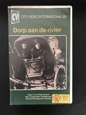 Dorp Aan De Rivier Ex-Rental Vintage Big Box VHS Tape Dutch NL Film Videoband