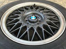 "x4 BMW E30 Basketweave Center Caps 14"" / 15"" BBS Wheel Center Hub Cap Euroweaves"