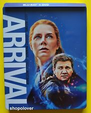 Arrival (Blu-ray/DVD, 2018) Steelbook - NO DIGITAL CODE - Like New