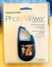 Memorex 2MB Blue Carabiner Photo Viewer NIP  Free Shipping