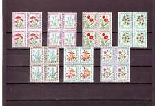 ANDORRA(FRENCH) - SGFD192-FD198 MNH 1964 POSTAGE DUES - BLOCKS OF 4