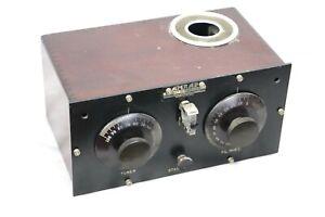1923 AMRAD RADIO APPARATUS TYPE 3366 CRYSTAL TUBE REFLEX RECEIVER NEAR MINT ORIG