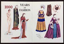 Years of Fashion Paper Doll, Brenda Sneathen Mattock, Mag.pd.