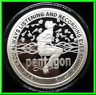 2019 1oz Amazon Alexa Proof Silver Shield Group SSG .999 InfoIndCom Series