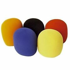 Sound Lab 35mm Foam Microphone Windshields (pack of 5 50mm X 60mm Assorted ...