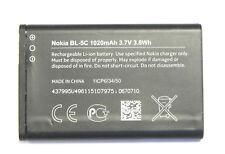 Original Nokia bl-5c batería BATTERY 1208 1209 1600 1650 2610 2760 3100 3109 3110 C