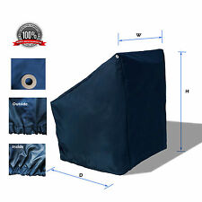 "WaterProof Heavy duty Boat Center Console Cover Fits up 46""Wx40""Dx45""H Navy"