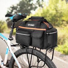 Bike Rear Seat Bag Rack Trunk Basket Pannier Bag Road Cycling Luggage Handbag