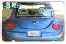 ASIE  TELECARTE / PHONECARD .. CHINE 50Y UNIC. AUTO CAR COX COCINELLE VOLKSWAGEN