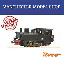 "Roco HOe 009 1:87 baureihe BR99 Narrow gauge steam locomotive ""DCC SOCKET"" NEW"